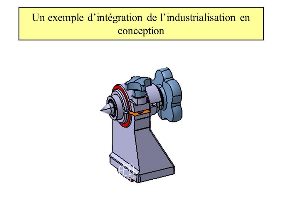 Un exemple d'intégration de l'industrialisation en conception