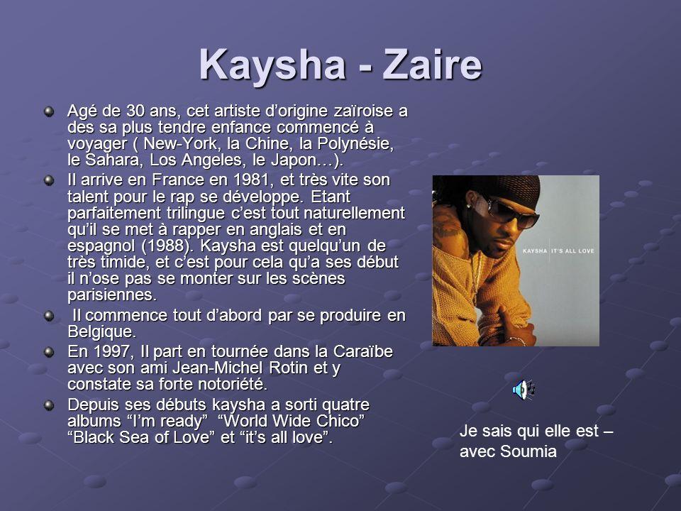 Kaysha - Zaire