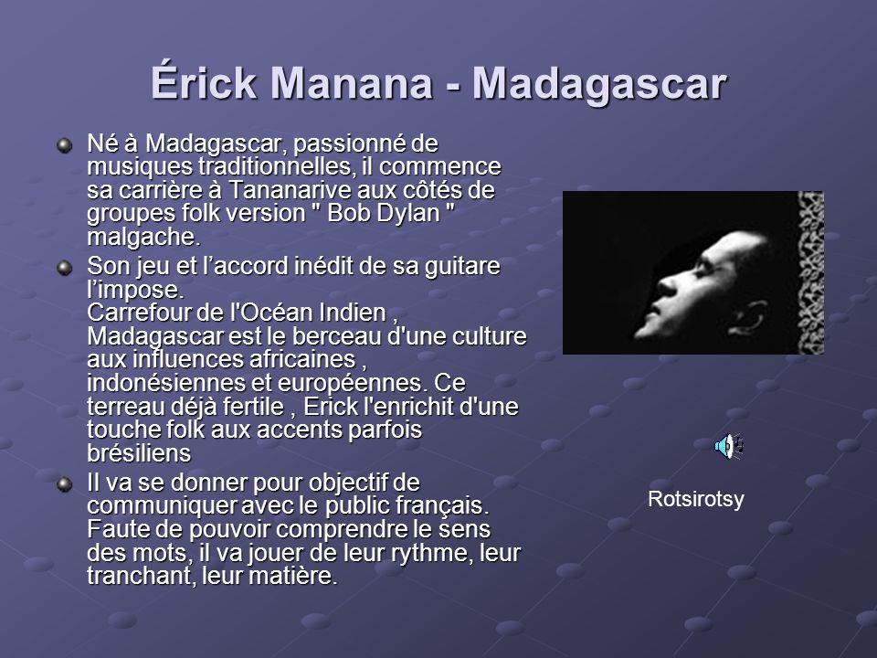 Érick Manana - Madagascar