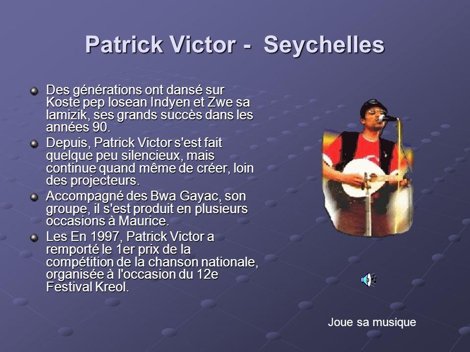 Patrick Victor - Seychelles