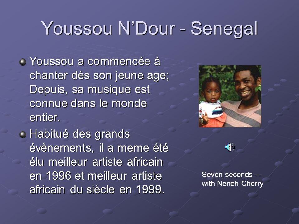 Youssou N'Dour - Senegal