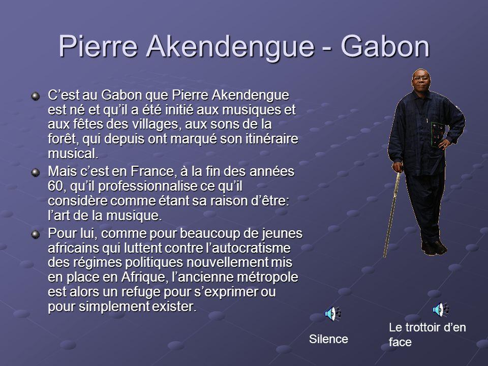Pierre Akendengue - Gabon