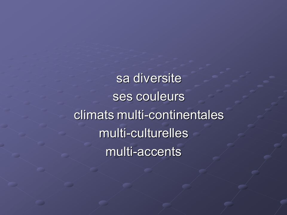 climats multi-continentales