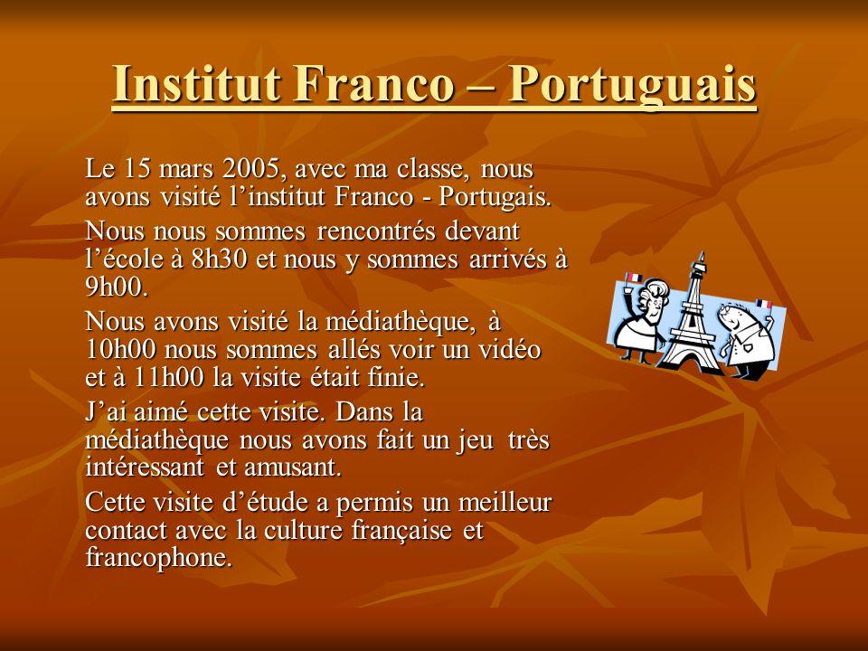 Institut Franco – Portuguais