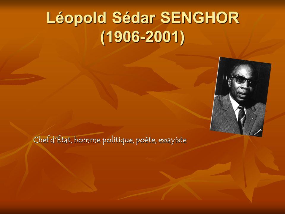 Léopold Sédar SENGHOR (1906-2001)