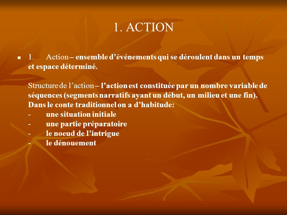 1. ACTION
