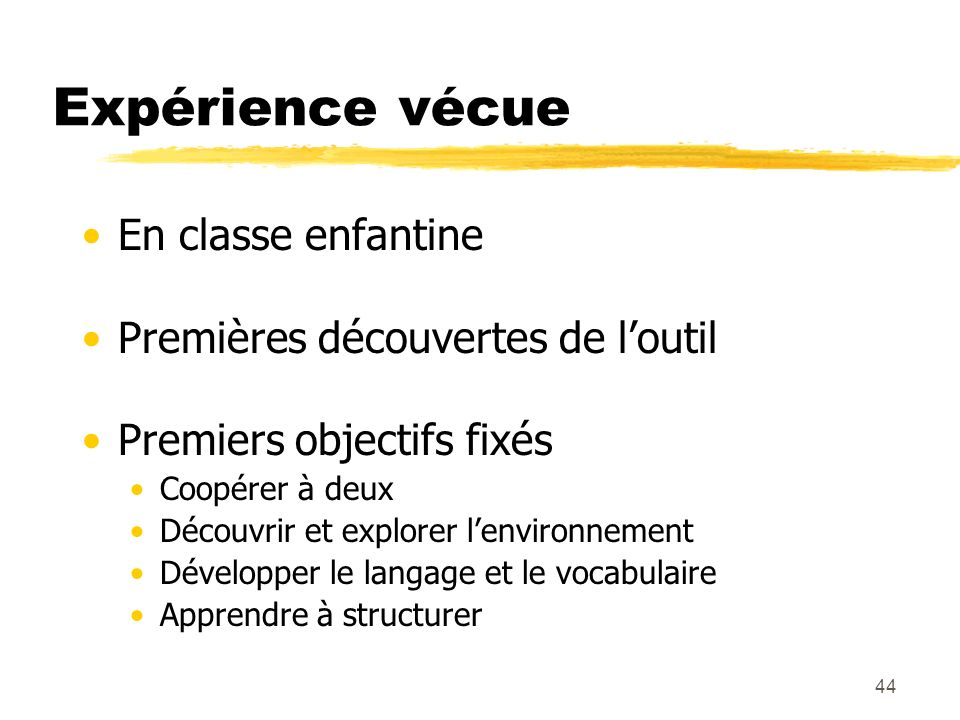 Module F3Mitic PréAO (C. Bourgnon / V. Crelier)