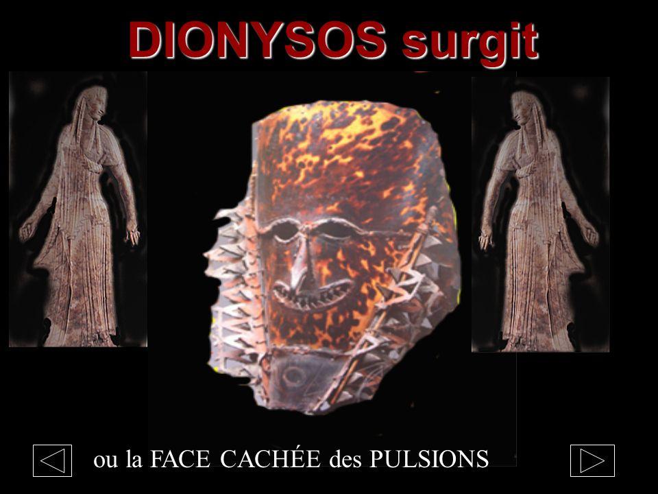 DIONYSOS surgit ou la FACE CACHÉE des PULSIONS