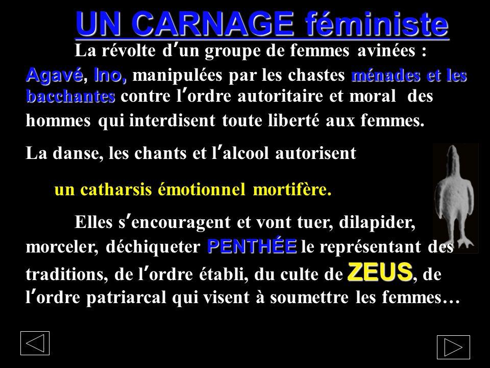 UN CARNAGE féministe