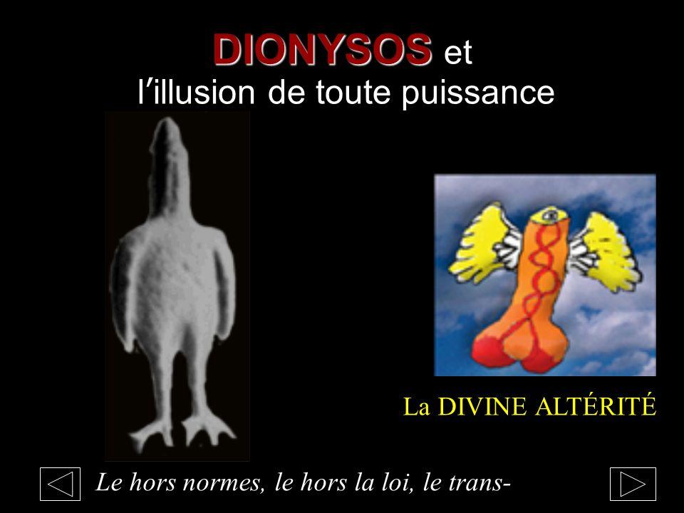 DIONYSOS et l'illusion de toute puissance