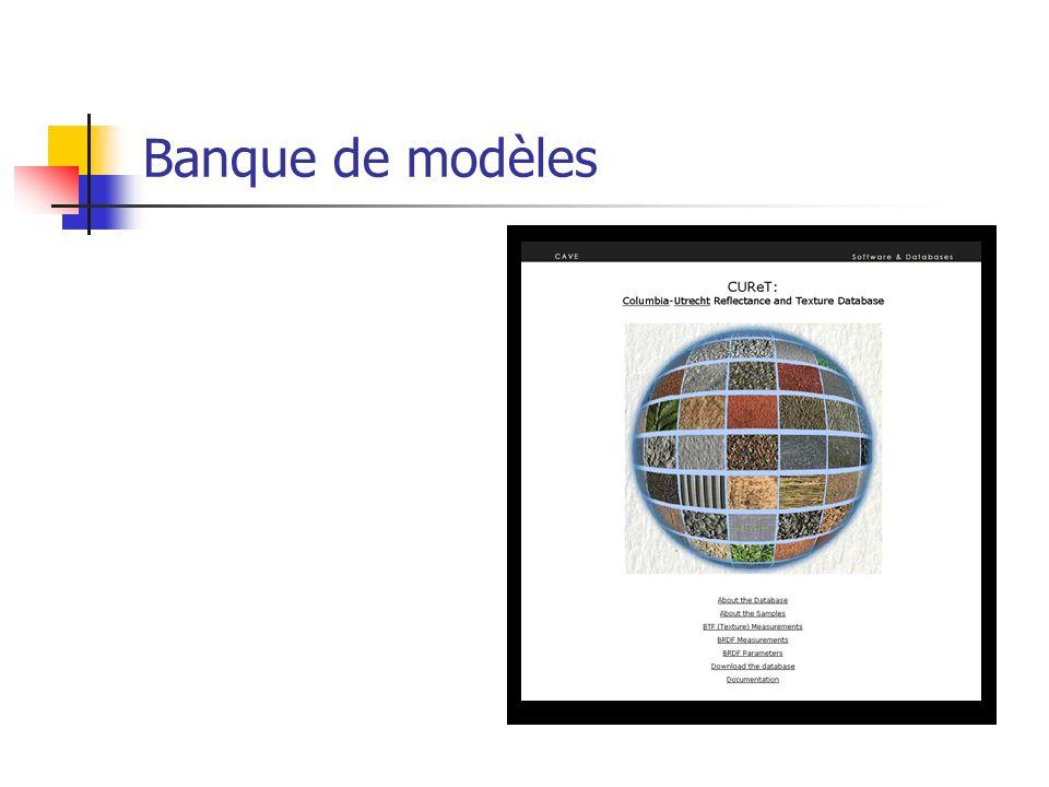 Banque de modèles