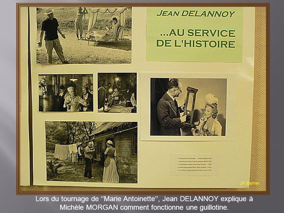 Lors du tournage de ''Marie Antoinette'', Jean DELANNOY explique à