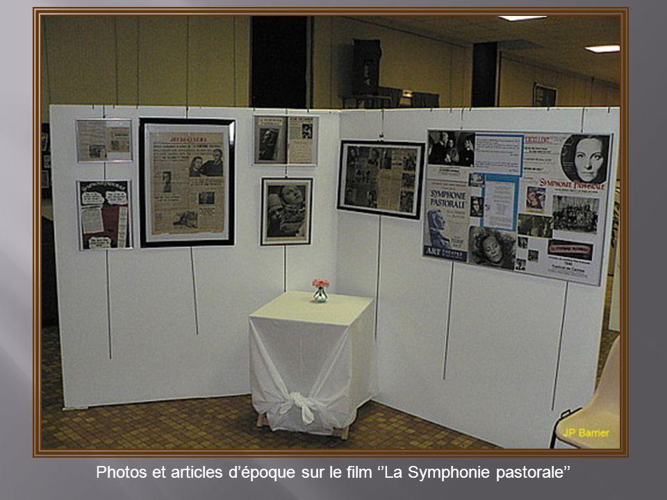 Photos et articles d'époque sur le film ''La Symphonie pastorale''