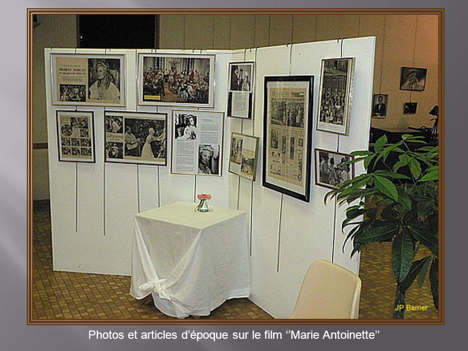 Photos et articles d'époque sur le film ''Marie Antoinette''