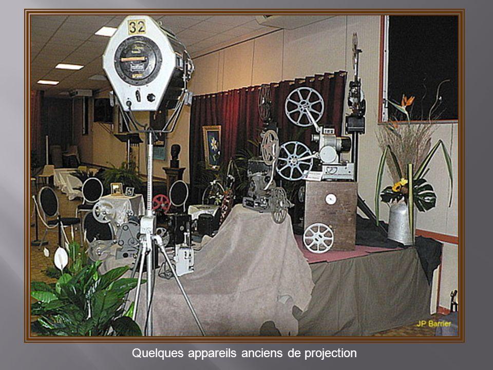 Quelques appareils anciens de projection