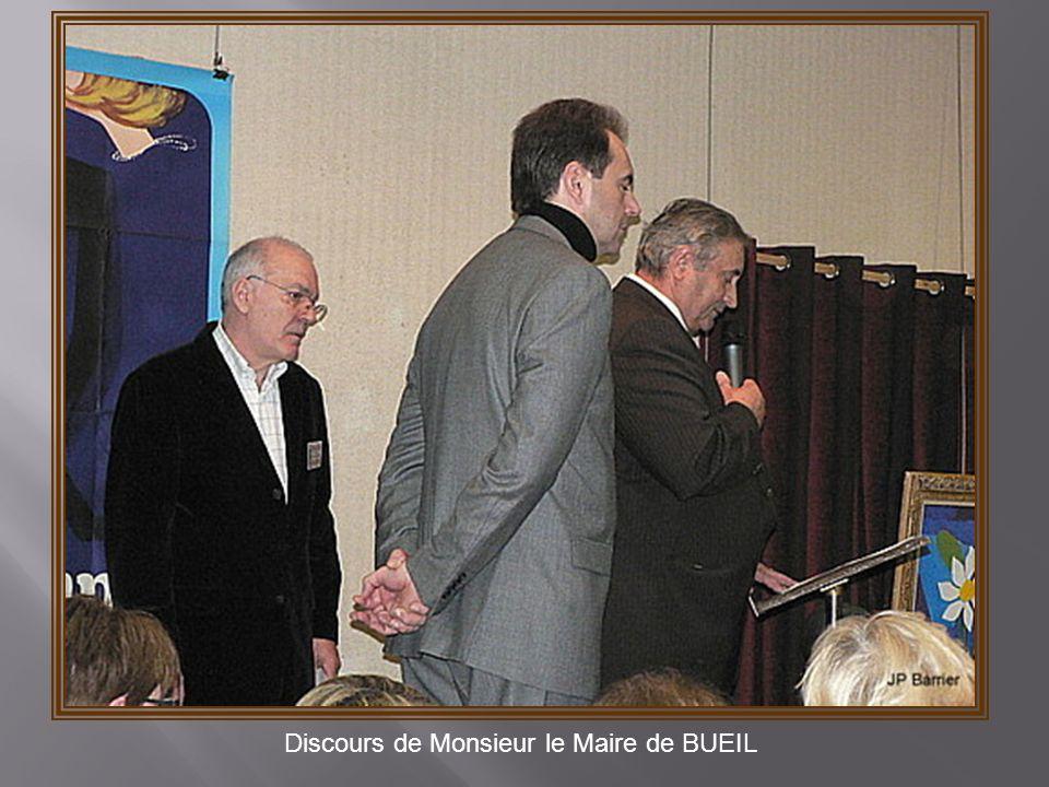Discours de Monsieur le Maire de BUEIL
