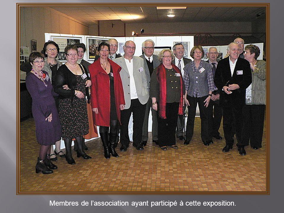Membres de l'association ayant participé à cette exposition.