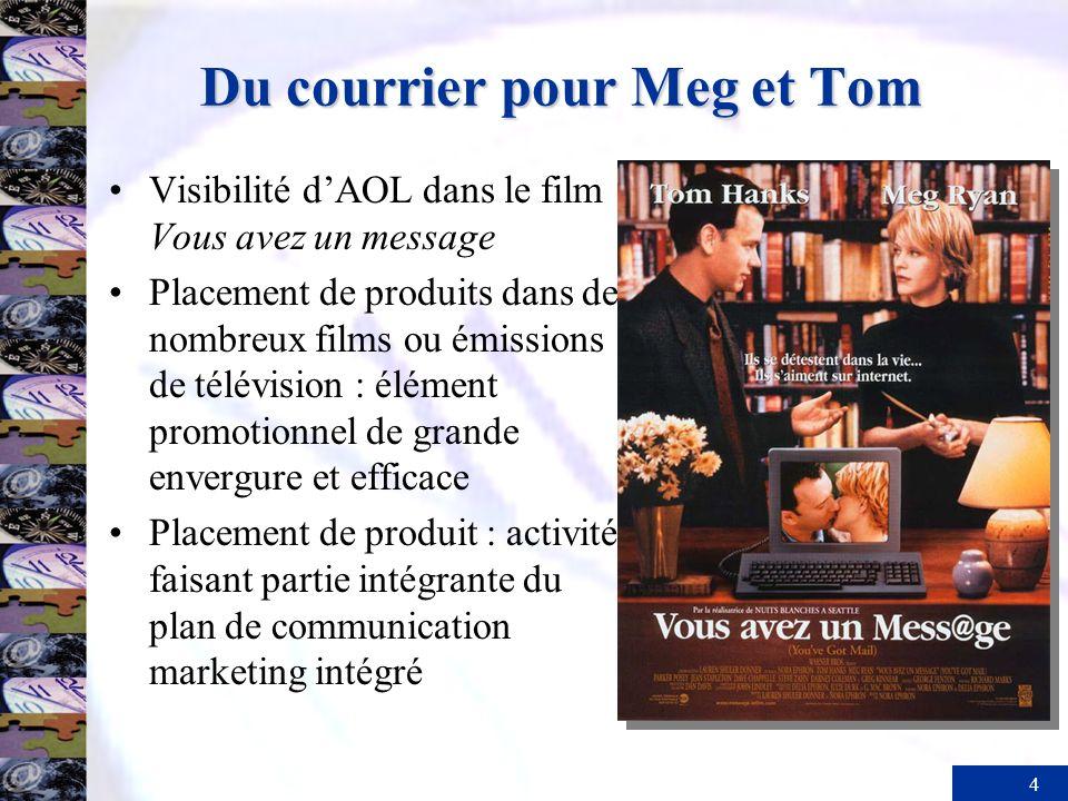 Du courrier pour Meg et Tom