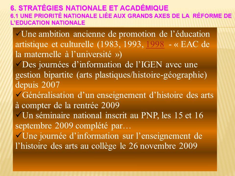 6. Stratégies nationale et académique 6