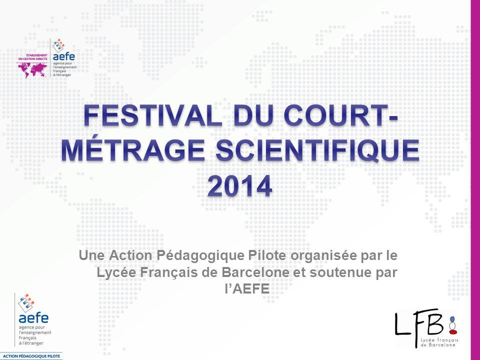 FESTIVAL DU COURT-MÉTRAGE SCIENTIFIQUE 2014