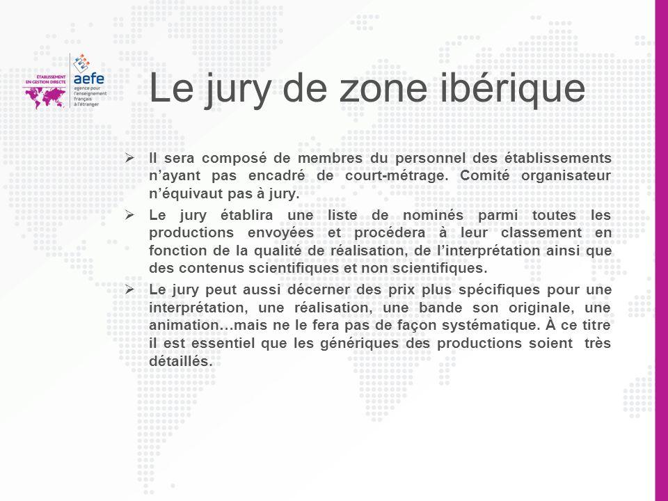 Le jury de zone ibérique