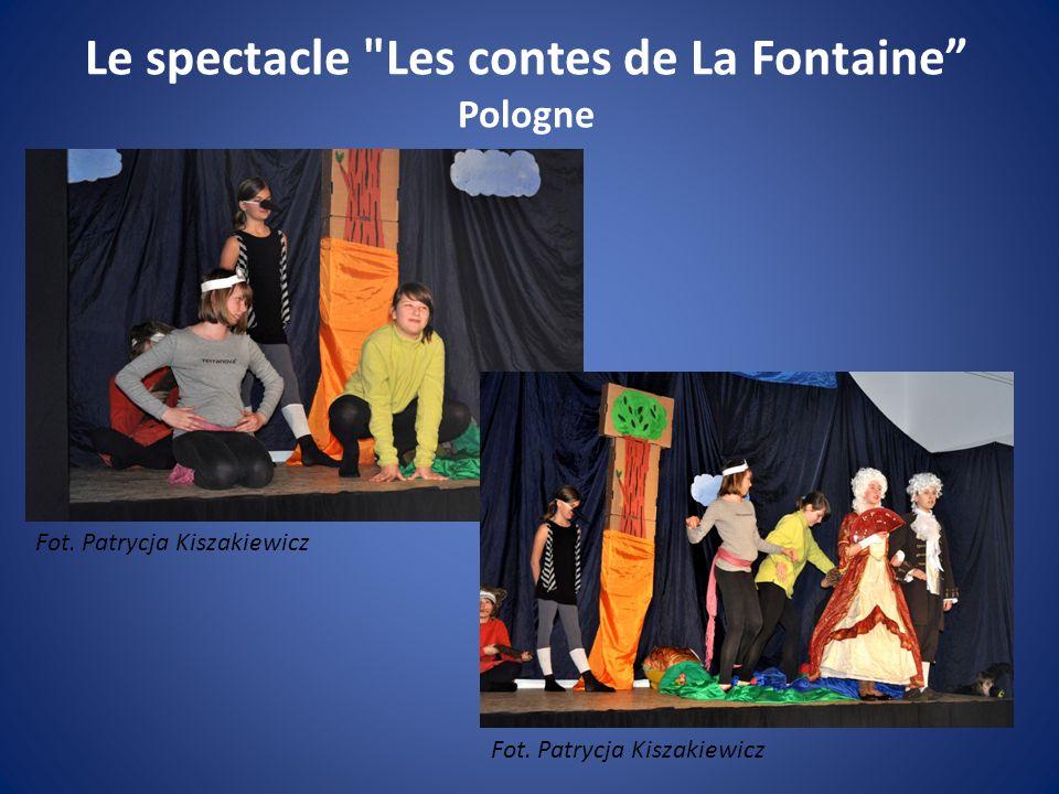 Le spectacle Les contes de La Fontaine Pologne