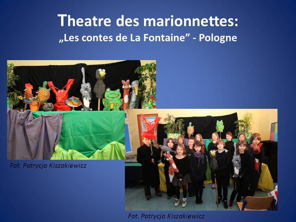 """Theatre des marionnettes: """"Les contes de La Fontaine - Pologne"""