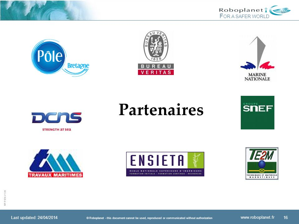 Partenaires Last updated: 30/03/2017