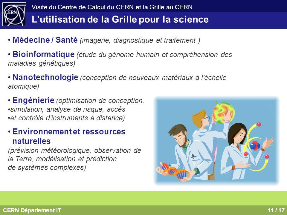 L'utilisation de la Grille pour la science