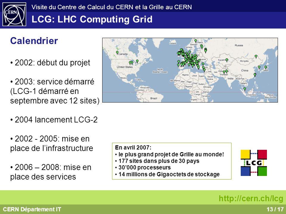 LCG: LHC Computing Grid