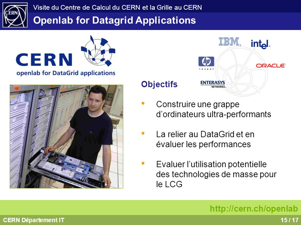 Openlab for Datagrid Applications
