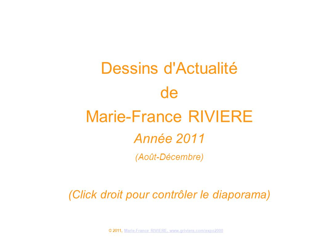 © 2011, Marie-France RIVIERE, www.griviere.com/expo2000