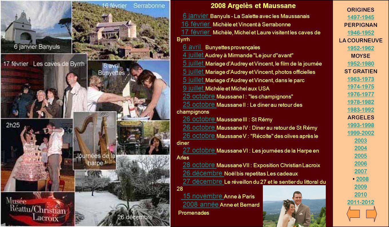 2008 Argelès et Maussane