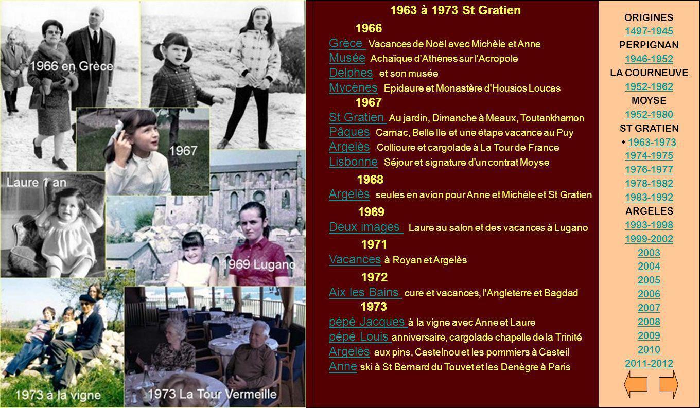 1963 à 1973 St Gratien