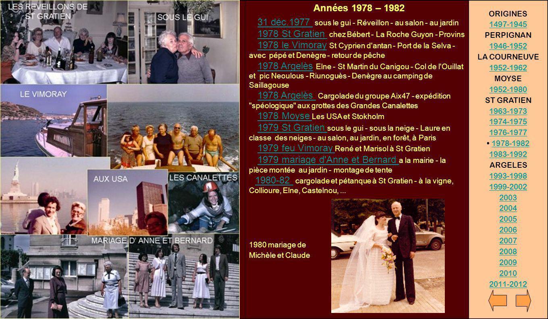 Années 1978 – 1982