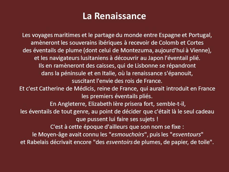 La Renaissance Les voyages maritimes et le partage du monde entre Espagne et Portugal,