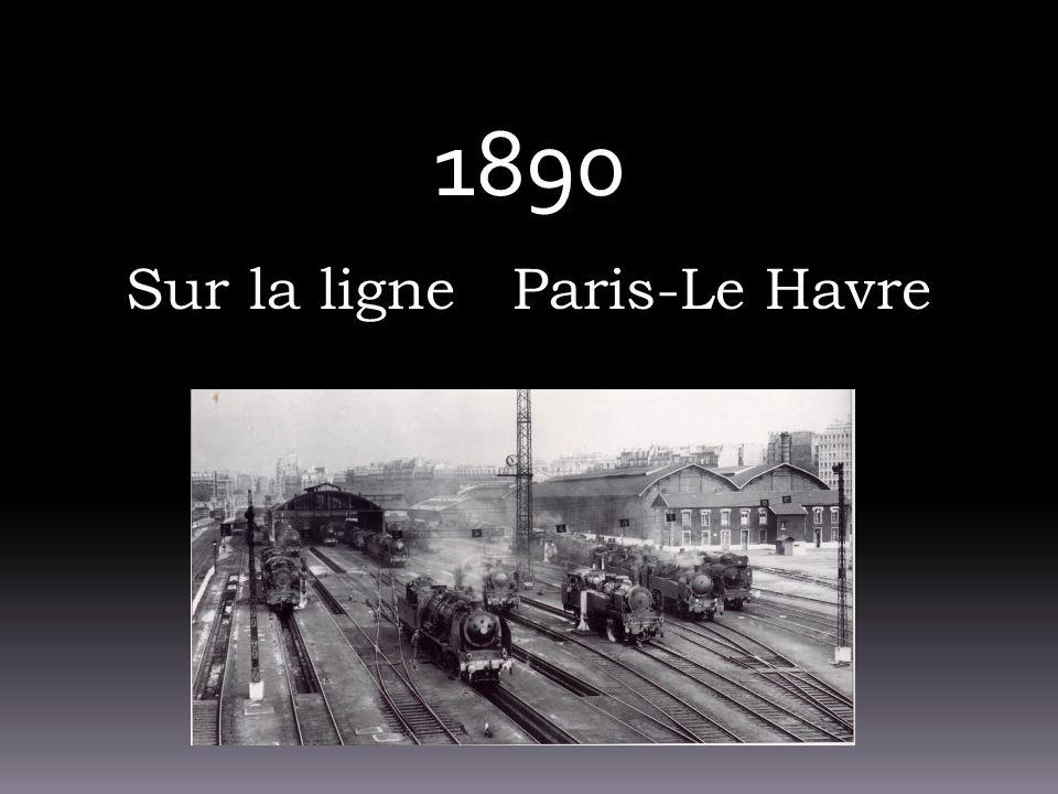 Sur la ligne Paris-Le Havre