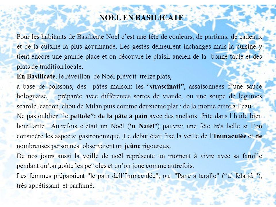 NOEL EN BASILICATE