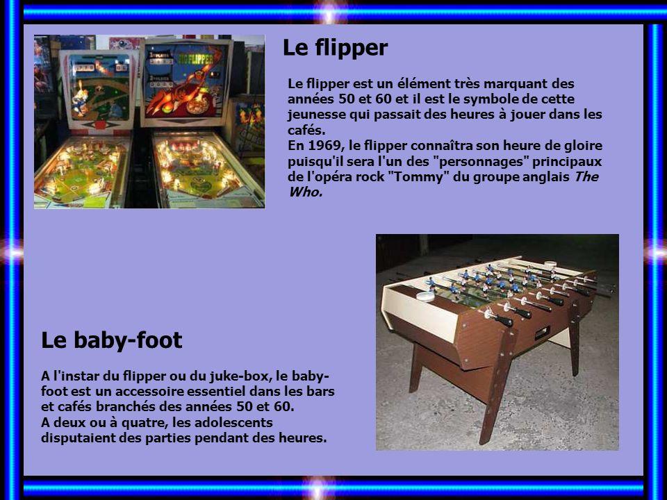 Allez les Filles… Le flipper Le baby-foot