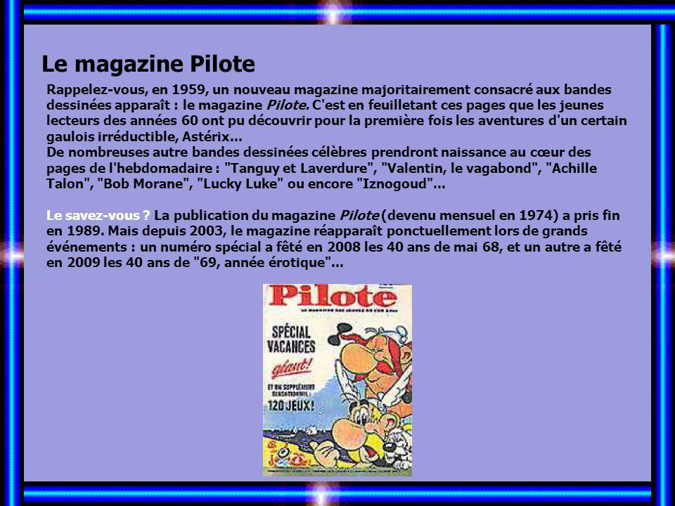 Allez les Filles… Le magazine Pilote