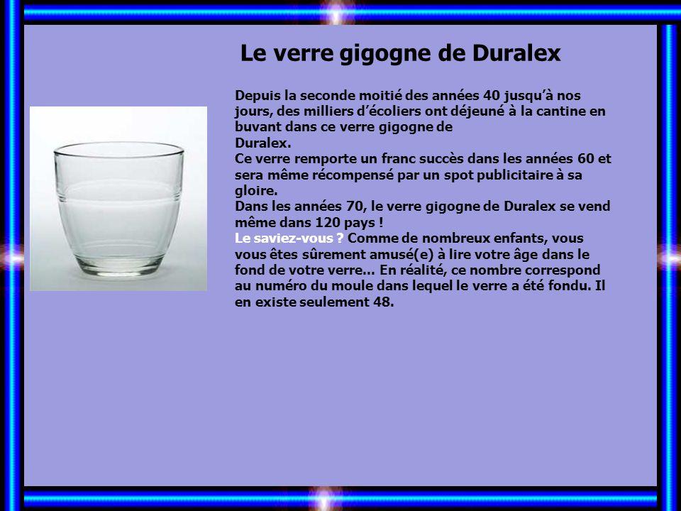 Allez les Filles… Le verre gigogne de Duralex