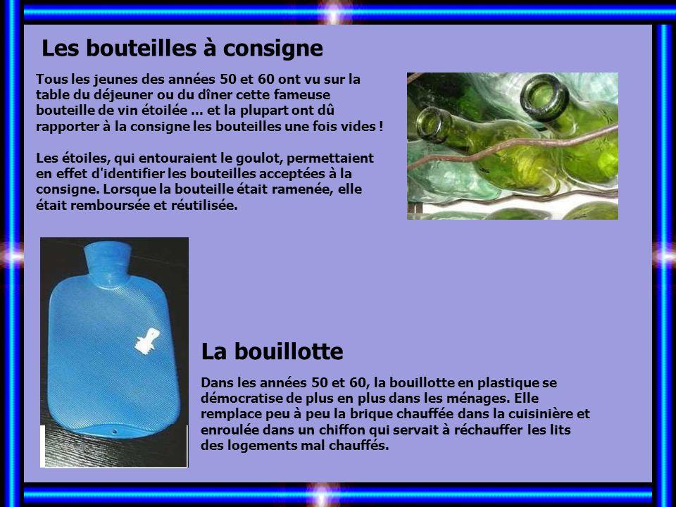 Allez les Filles… Les bouteilles à consigne La bouillotte