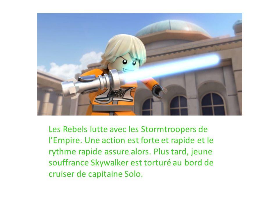 Les Rebels lutte avec les Stormtroopers de l'Empire
