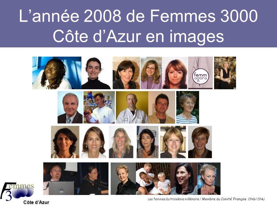 L'année 2008 de Femmes 3000 Côte d'Azur en images