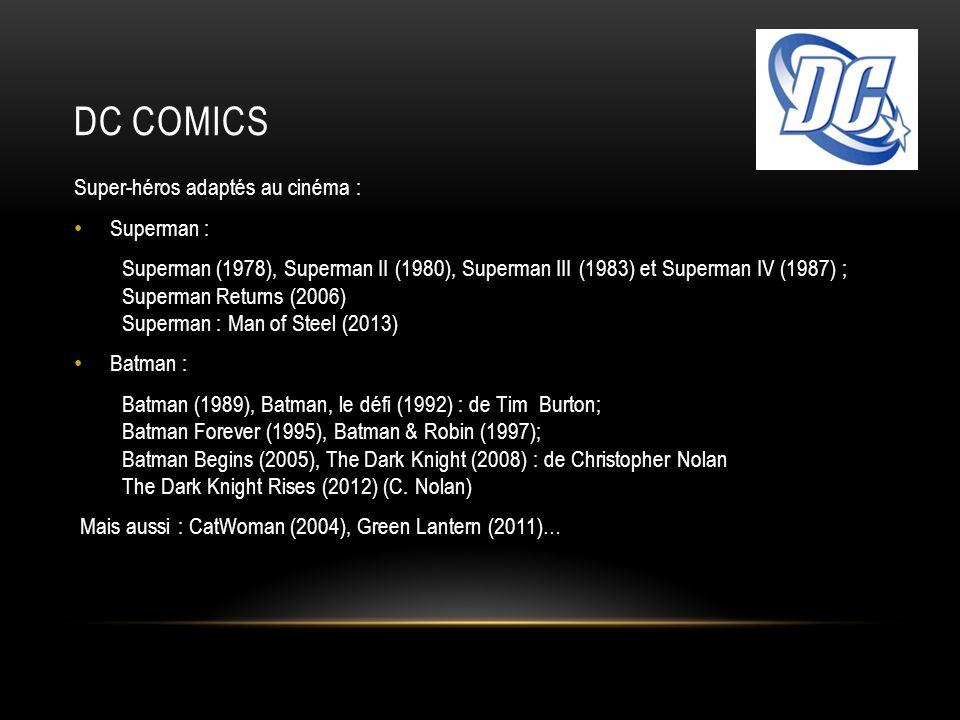DC Comics Super-héros adaptés au cinéma : Superman :