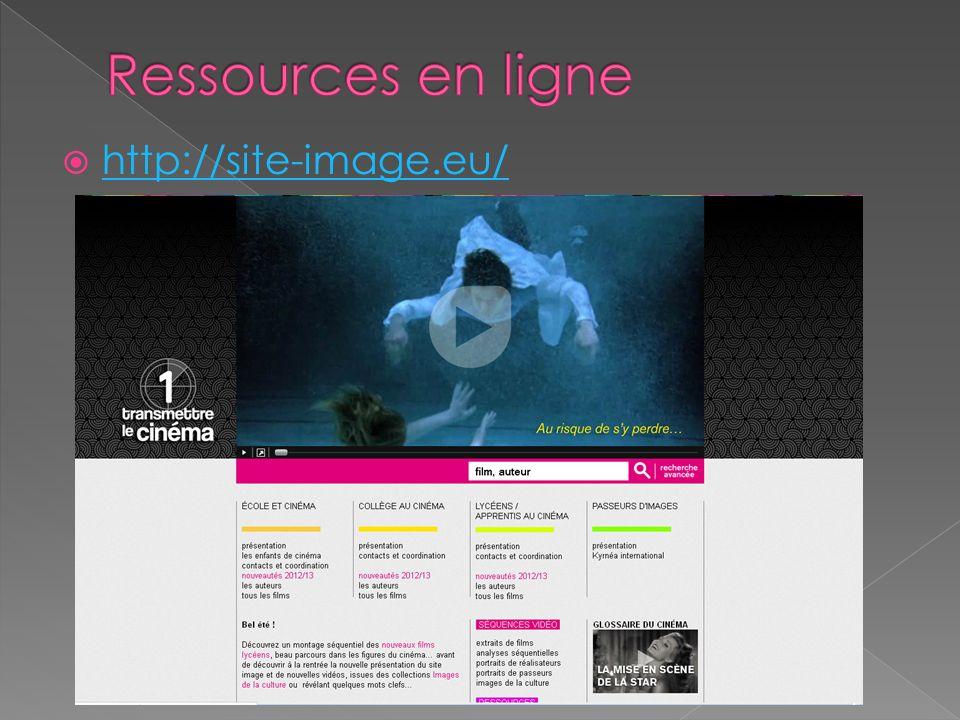 Ressources en ligne http://site-image.eu/