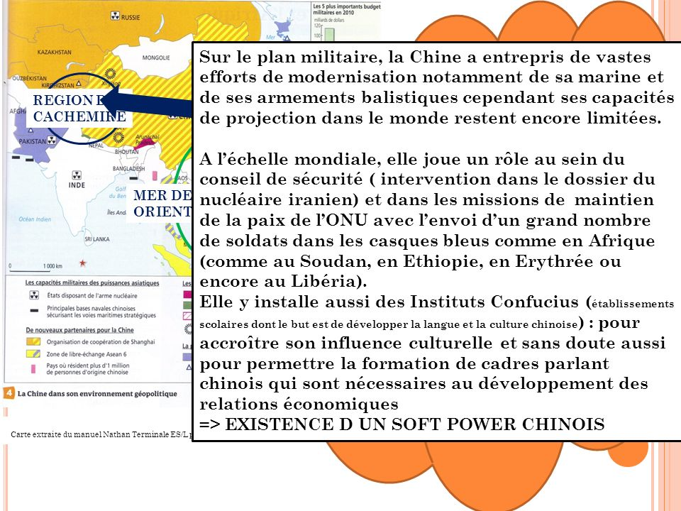 => EXISTENCE D UN SOFT POWER CHINOIS