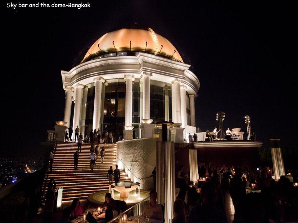 Sky bar and the dome-Bangkok