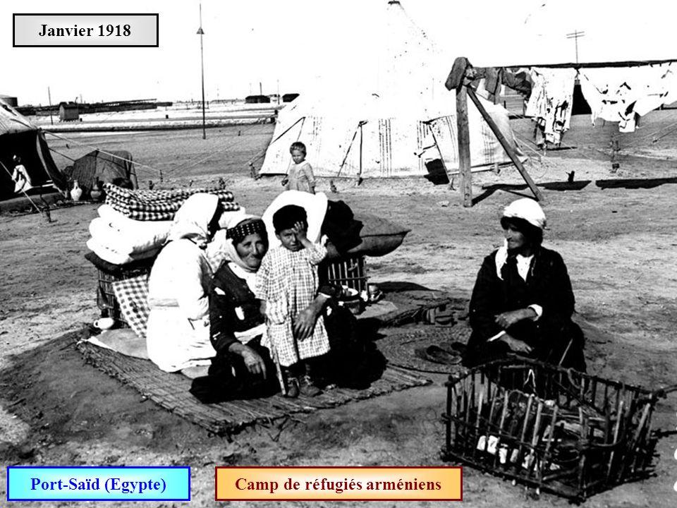 Camp de réfugiés arméniens