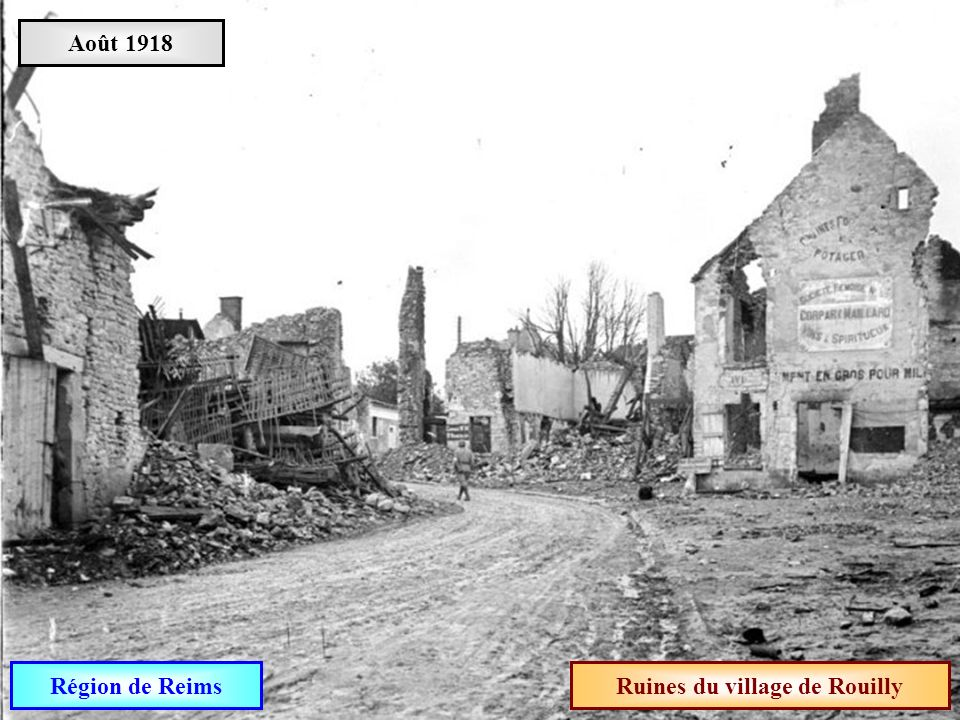 Ruines du village de Rouilly